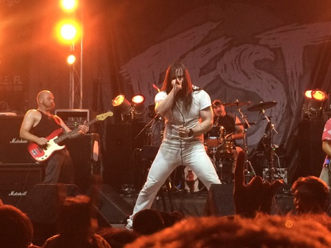 Andrew W.K. at FEST 14 in Gainesville, FL. (Iphone)